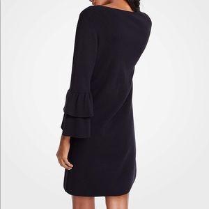 Ann Taylor Dresses - Ann Taylor   Ruffle Sleeve Sweater Dress